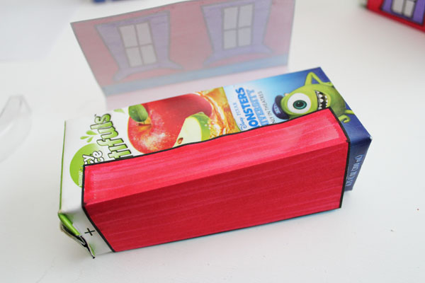 Tape printable to box
