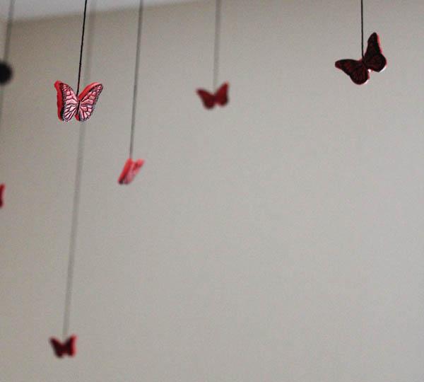 mod melts butterflies