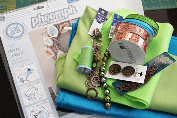 supplies for wizard costume
