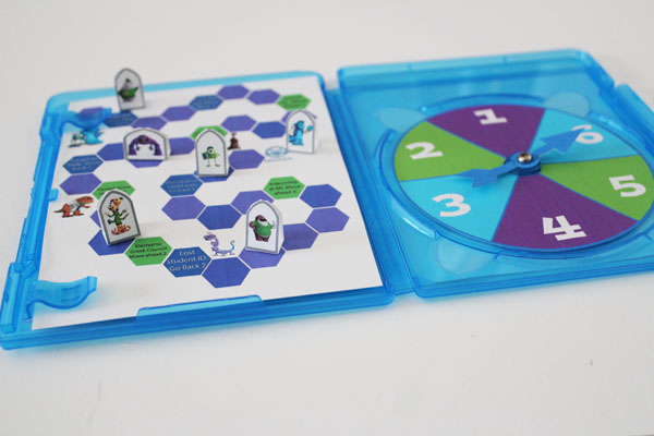 Monsters U Game inside a BluRay Case
