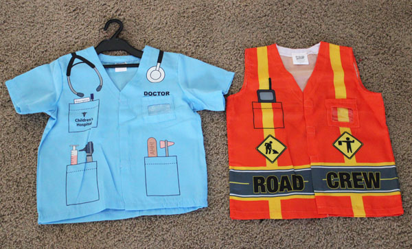 Road Crew Costume and Doctor Costume