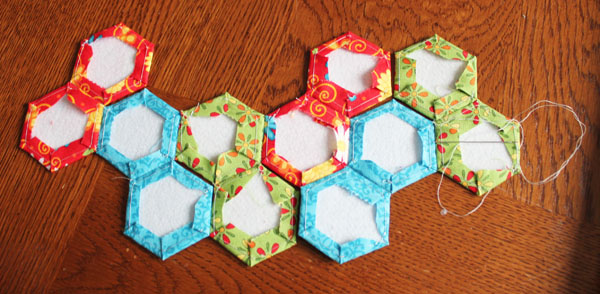 chain of hexies