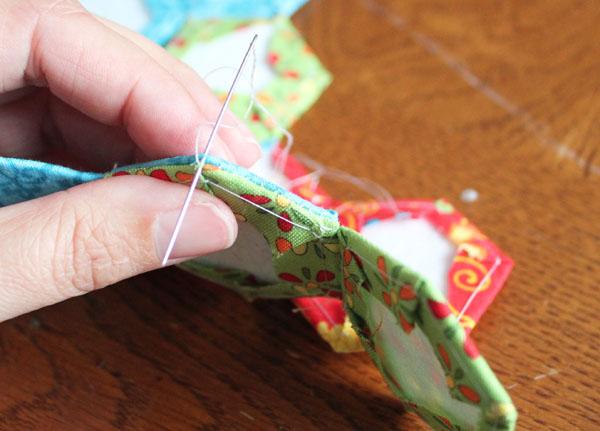 stitch into a chain