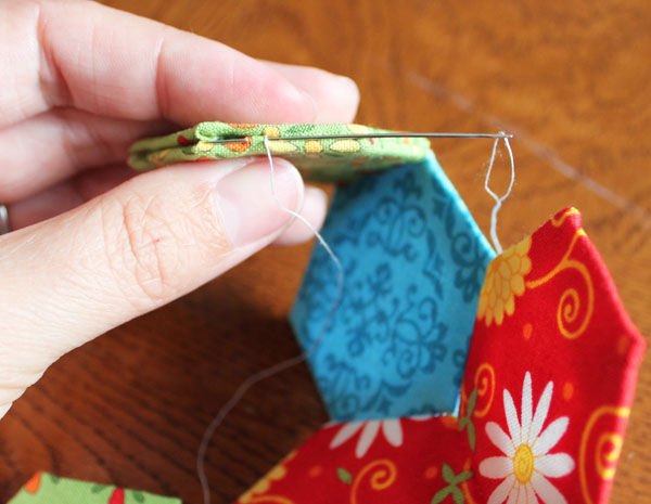 stitch together front and back pieces