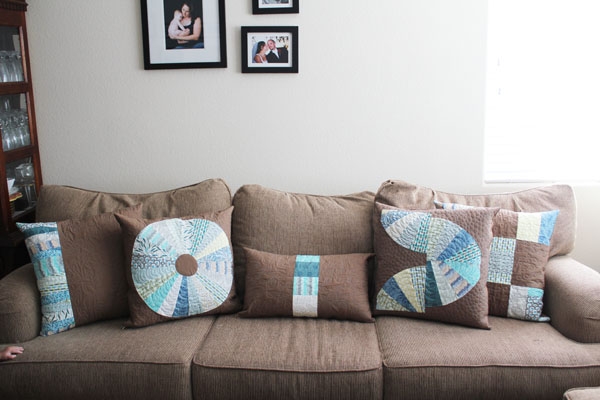 Legacy fabric pillows
