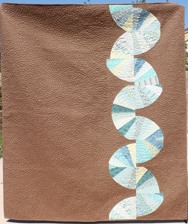 Roots and Wings Quilt with Legacy fabric by Art Gallery