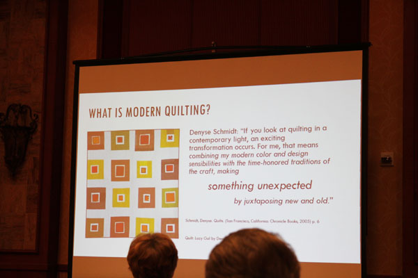 What is modern quilting