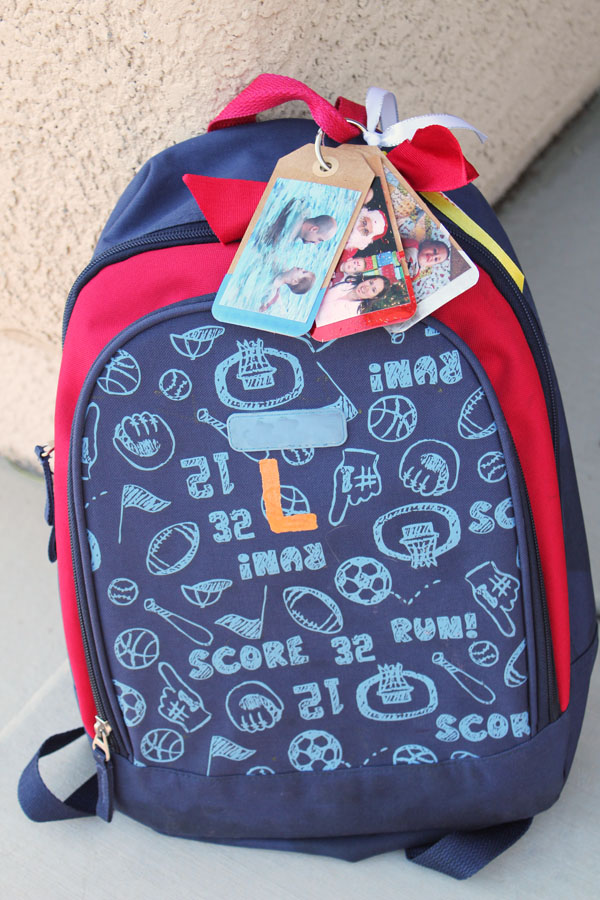 backpack love tags