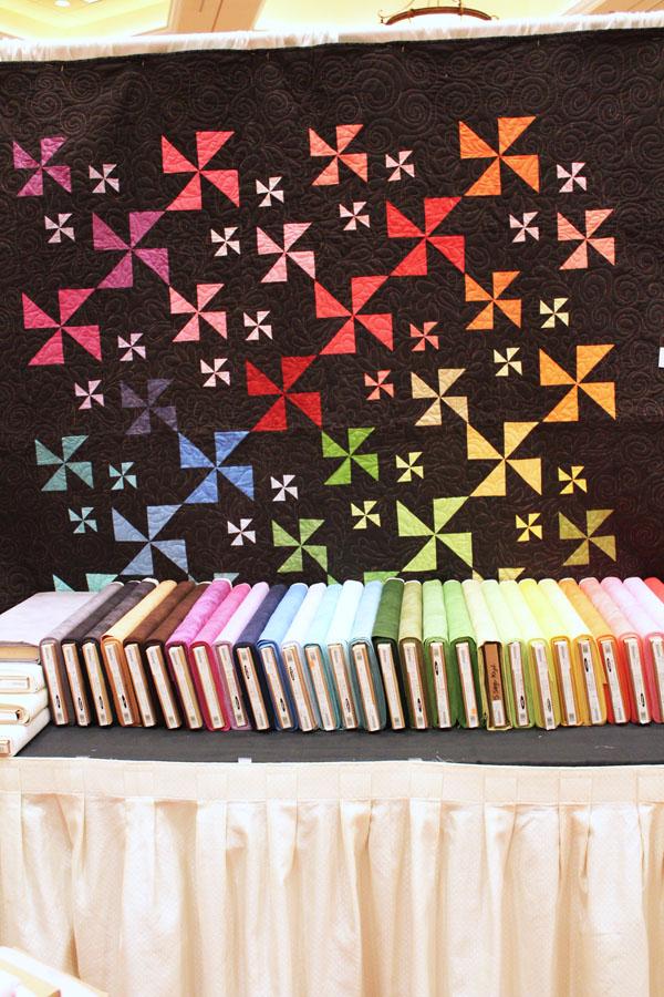 colorful pinwheels