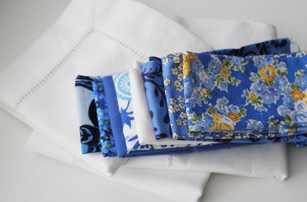 nine patch napkin supplies