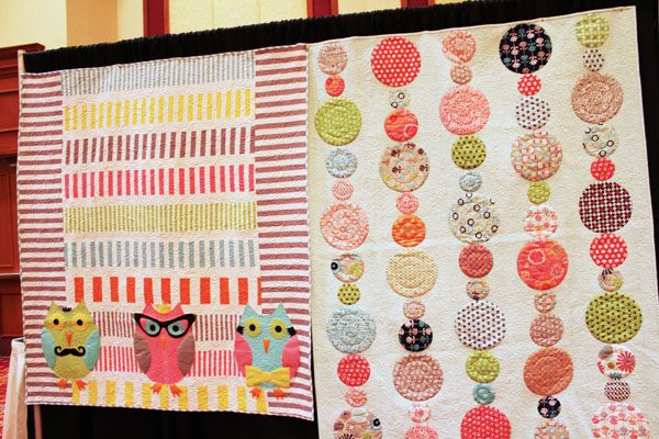 quilts at fabric fest