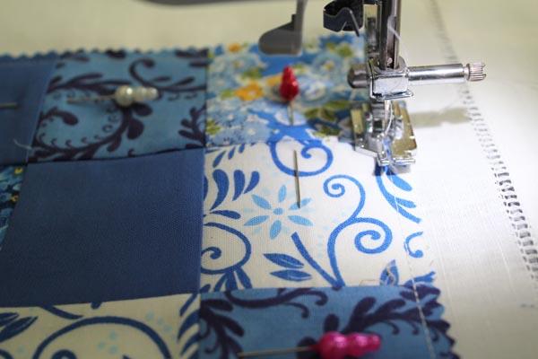 stitch down nine patch