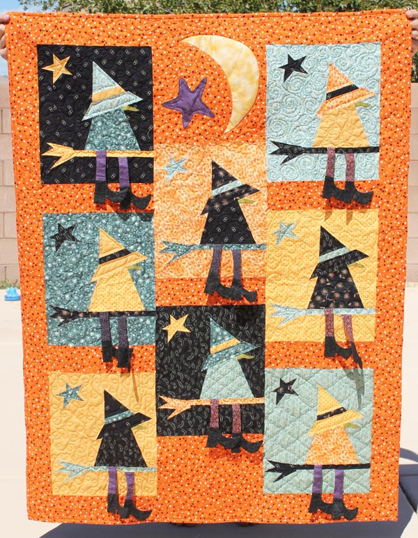 witch quilt by buggy barn
