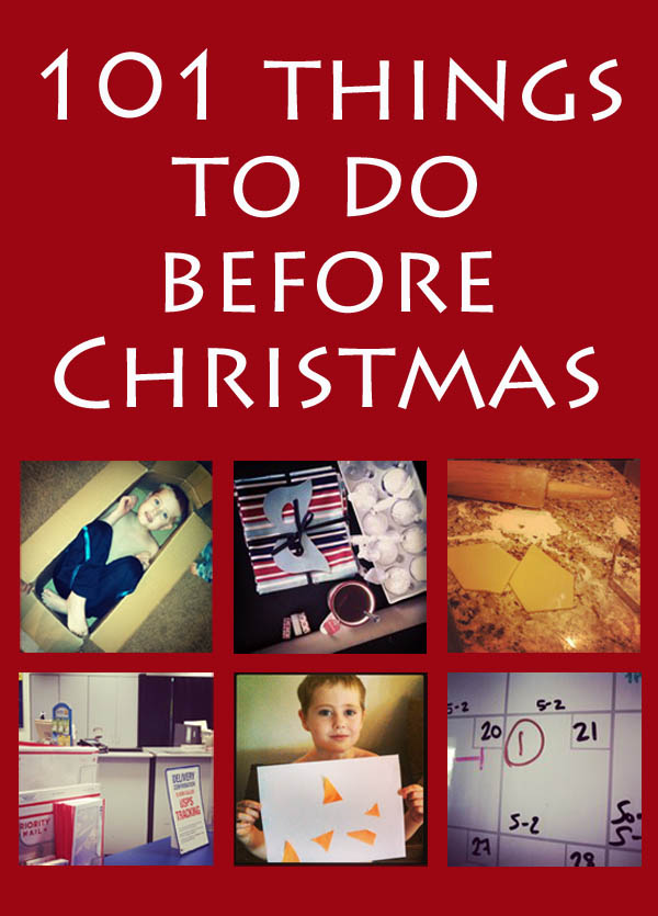 101 Things to do before Christmas #motherfunny #cbias #shop
