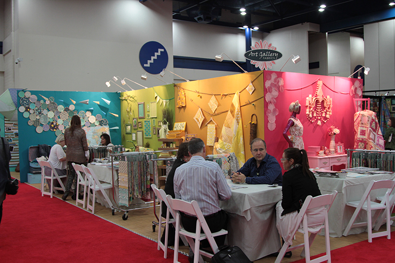 Art Gallery Fabrics Booth