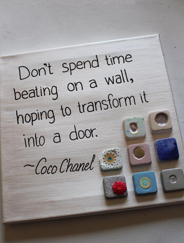 Cool 2 Cast Quote Canvas