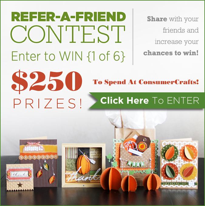 Consumer Crafts Refer a Friend