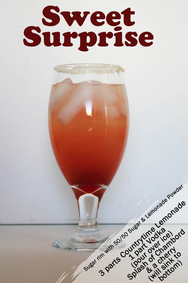 Sweet Suprise CountryTime Lemonade Drink #choosesmart #shop