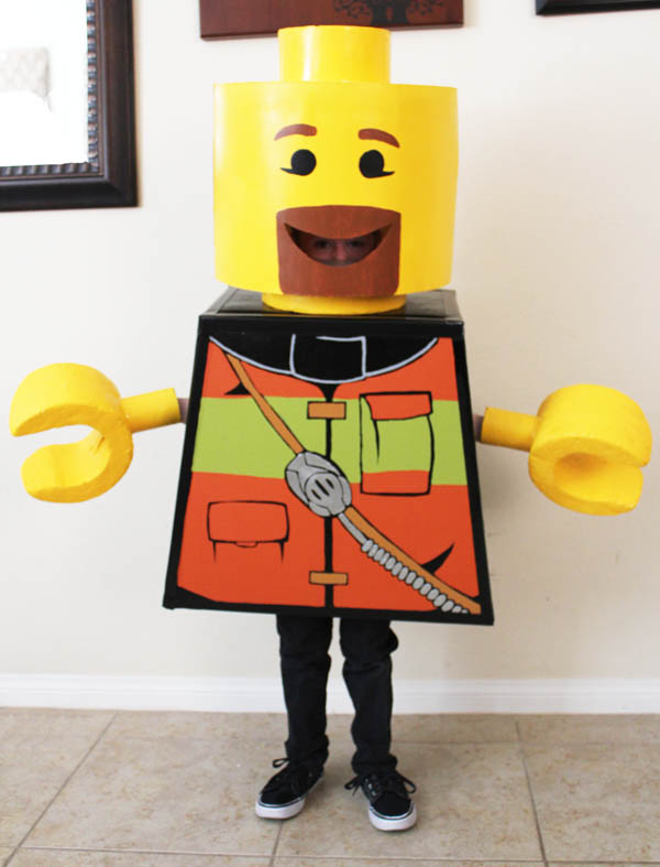 lego guy costume