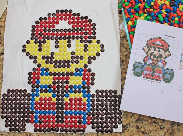 Mario 8 bit sprite #FueledByMM #shop