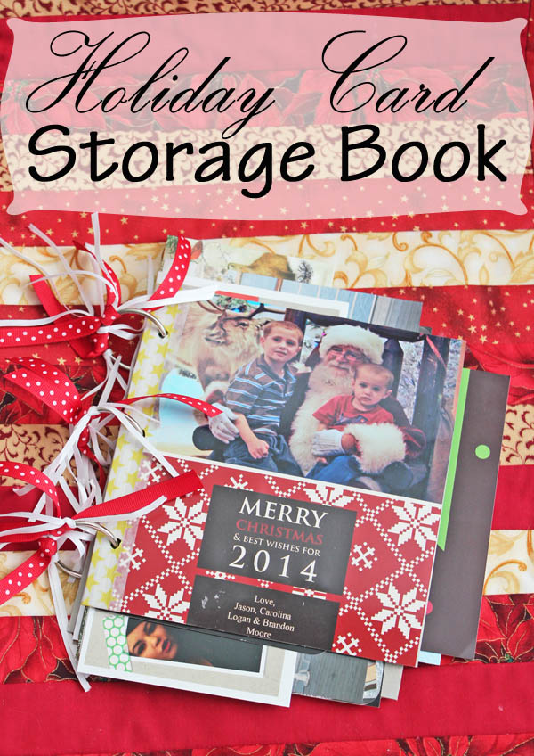 Holiday Card Storage Book