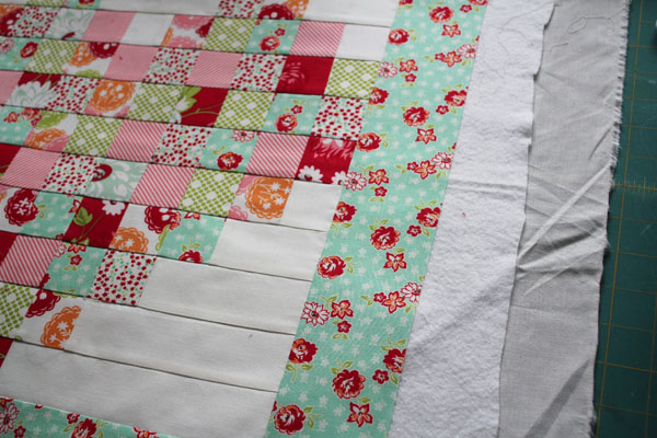 layer to quilt