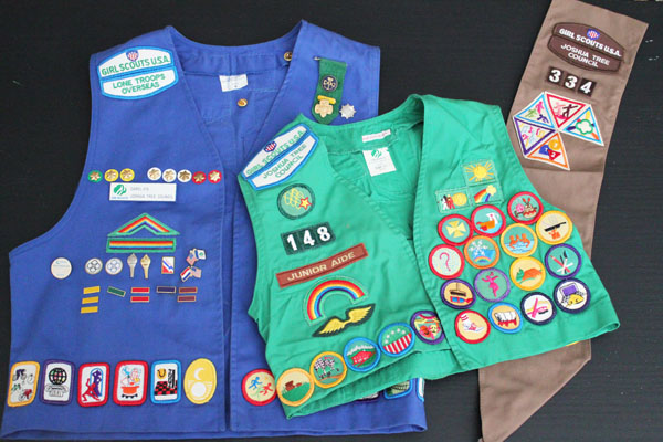 Nine Years of Girl Scouts