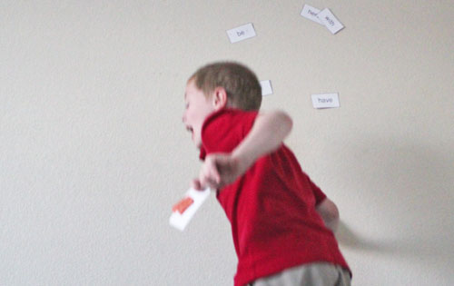 Jumping for Sight Words