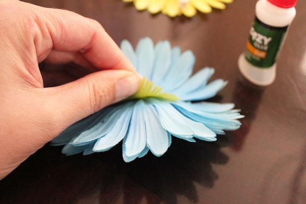glue clothespins