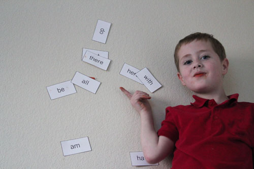 how high did the sight words go