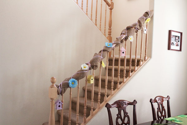 simple spring banister