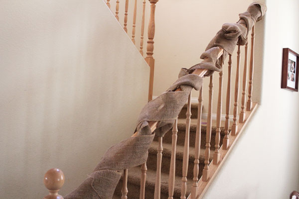 wrap banister