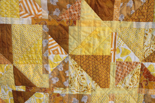 quilted supernova quilt