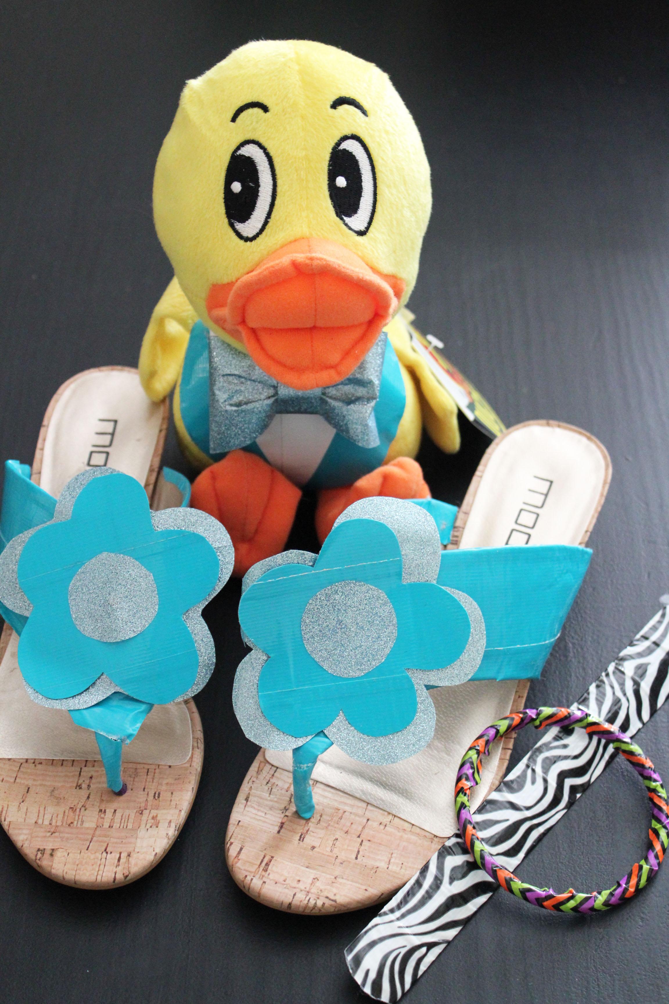 Duck Tape Prom Accessories