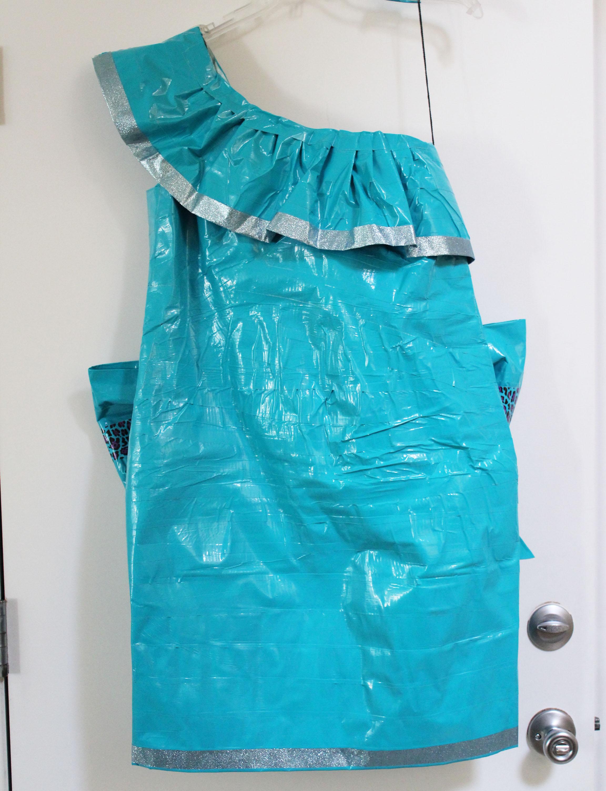 Duck Tape Prom Dress