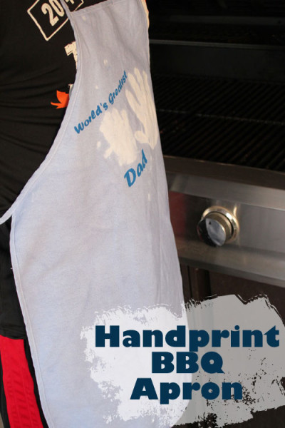 Handprint BBQ Apron