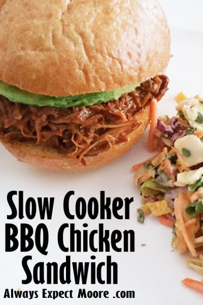 Slow Cooker BBQ Chicken Sandwich Recipe
