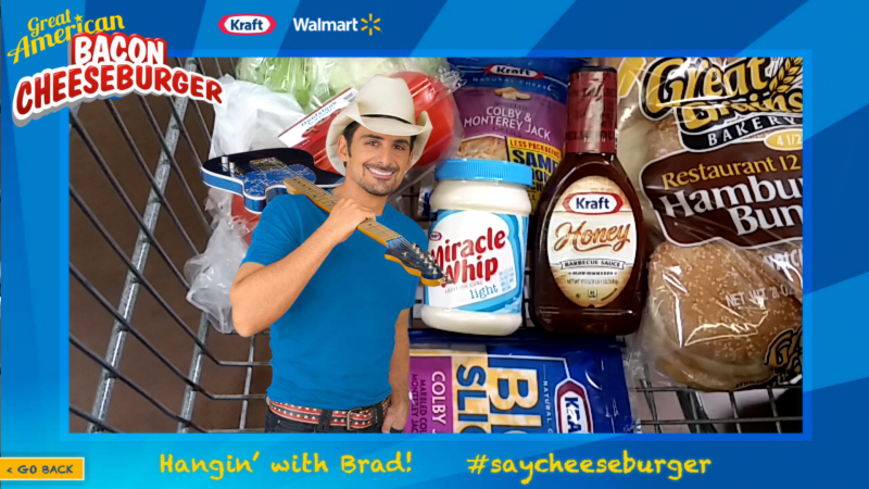 Brad paisley in cart