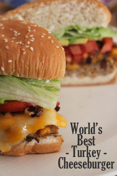 World's best turkey cheeseburger recipe
