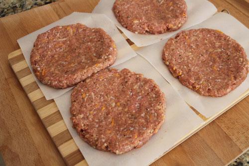make burger patties