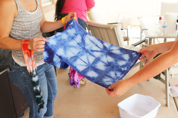 shibori tie dye technique