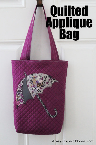 Quilted Applique Bag Pattern