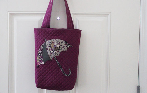 Quilted Applique Bag