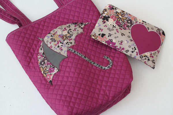 applique bag set