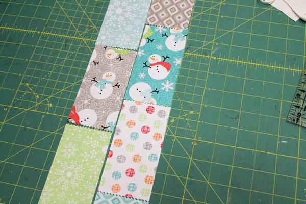 rectangles for mini quilt