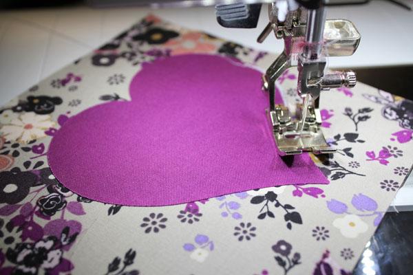 stitch around applique