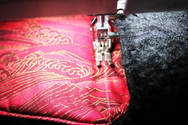 stitch flap fold