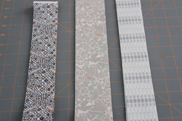 strips for borders and binding