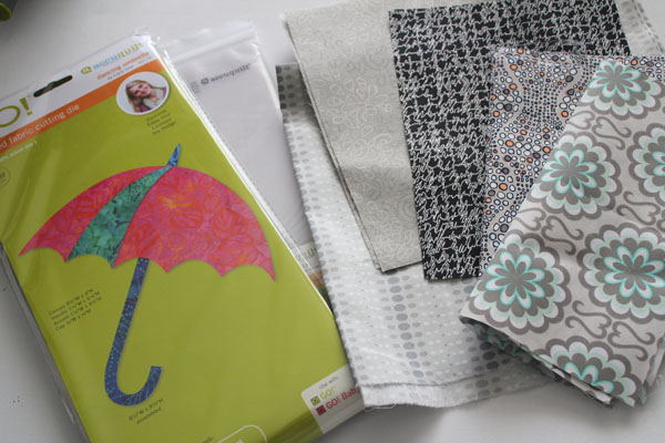 supplies for applique wall hanging