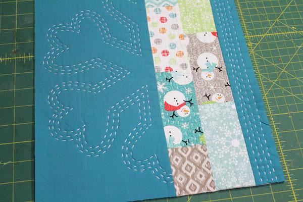 trim up mini quilt